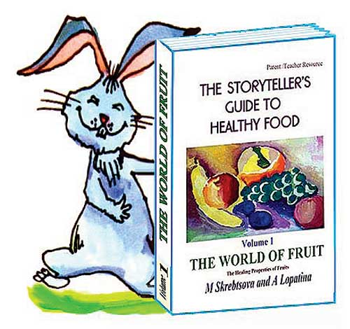 Buy now: books on healthy food for kids: fruit apple, healthy food for kids, hare, book on fruit. Book on Wonder Fruit: an effective introduction to healthy food for your kids. Book contains healthy recipes