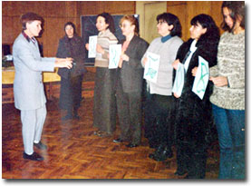Seminar (Workshop) on pedagogy conducted in Bulgaria (Sophia) in 2005, November