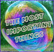 Blog The Most Important Things