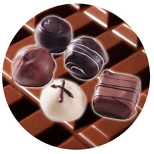 A story about chocolate: chocolate sweets, chocolate kingdom, chocolate wizard and chocolate gifts