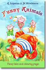 Book for children about animals: funny tales on animal